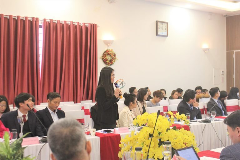 TS. Dương Thị Thu trình bày về mô hình Đồng hợp
