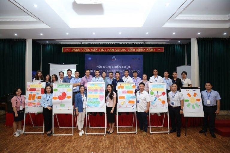 Hình ảnh tại phiên Đồng hợp của Công ty Cổ phần Đầu tư Xây dựng GDC Hà Nội