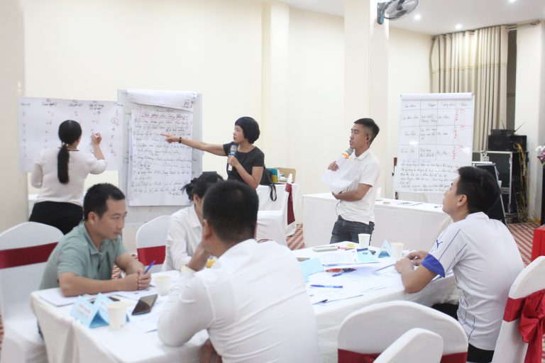 Participants attended group activities, presentation