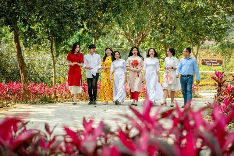Hòa cùng bản giao hưởng mùa Xuân tại Thung Nham, Ninh Bình