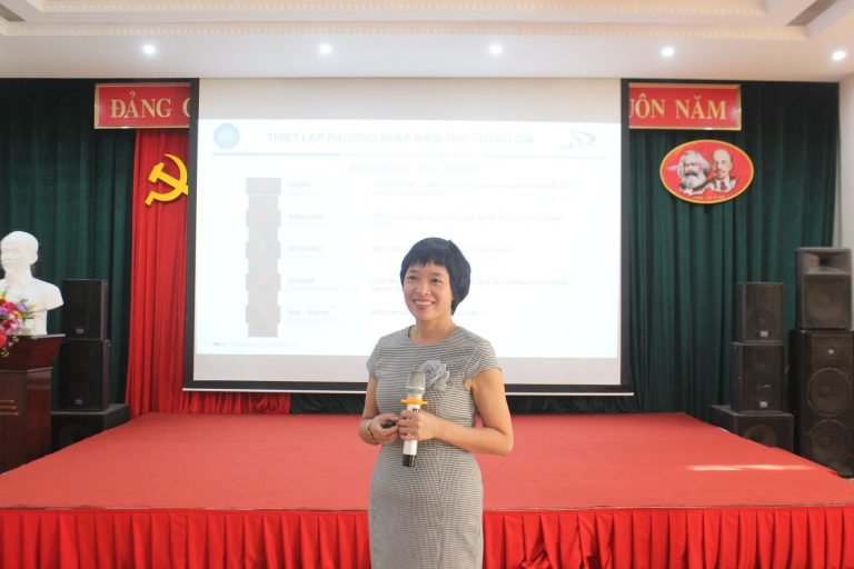 MSc. Le Thi Thanh Binh – Vice Director of the Institute for Strategic Leadership Development  Research (Sleader)