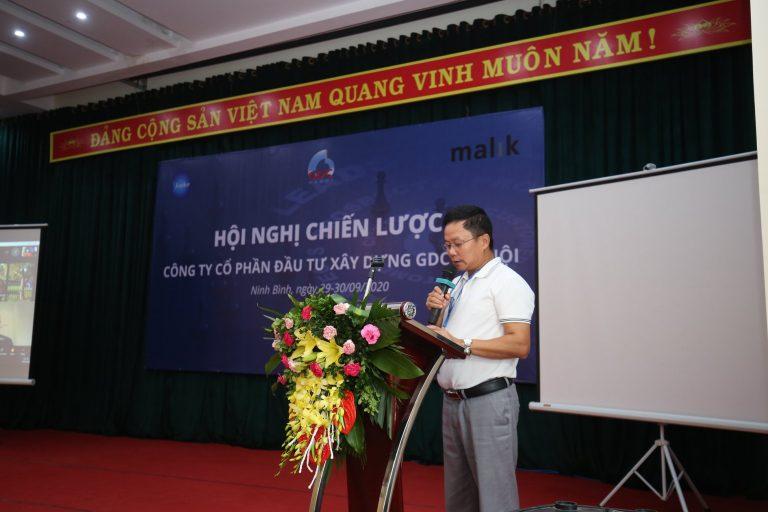 Chairman of GDC Hanoi, Mr. Nguyen Van Khoa deliveried the opening speech